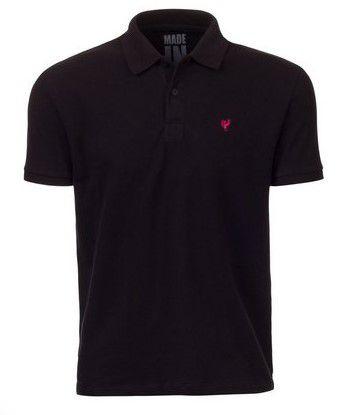 Camisa Pólo Made in Mato Piquet Preta
