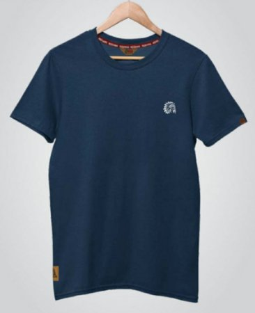 Camiseta Red Man Básica Azul Marinho