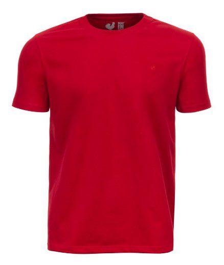 Camiseta  Made in Mato Basic - Carmim