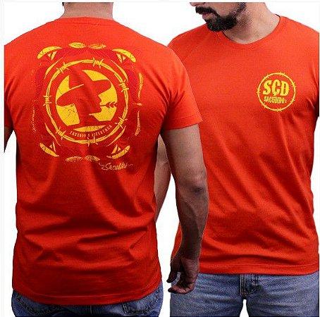Camiseta Sacudido's Logo Costas - Tomatino