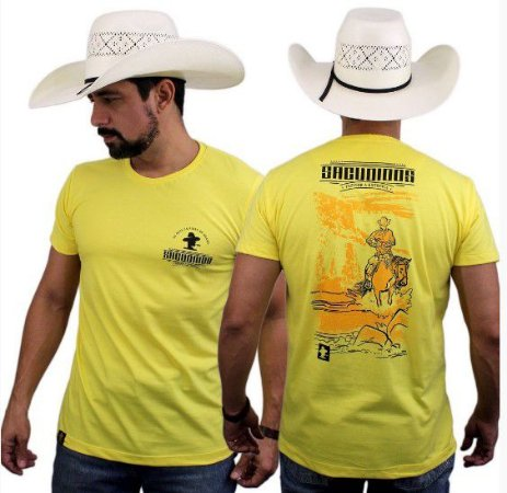 Camiseta Sacudido's Cavaleiro Costas - Verano