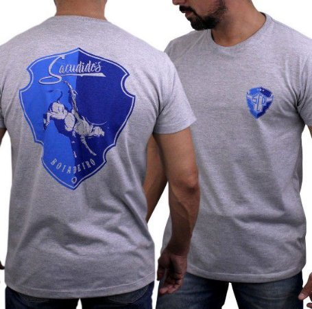 Camiseta Sacudido's Boiadeiro Mescla Médio