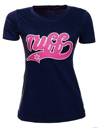 Camiseta Tuff Feminina Marinho Silk Pink