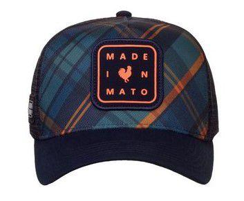 Boné Made in Mato Trucker Chess