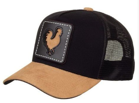 Boné Made in Mato Rooster Window Brown