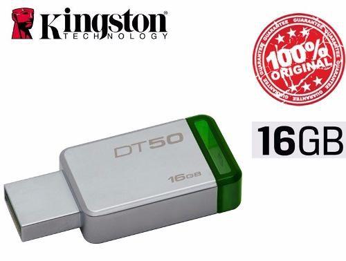 Pen Drive Kingston 16 Gb Usb 3.1 Datatraveler50 Original