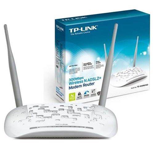 Modem Roteador - 300Mbps TD-W8961N - TP-Link