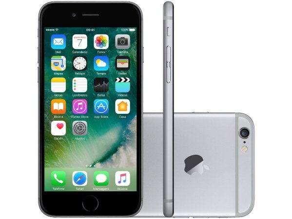 iPhone 6s - 16GB Preto ( 3 meses de uso - 9 de Garantia )