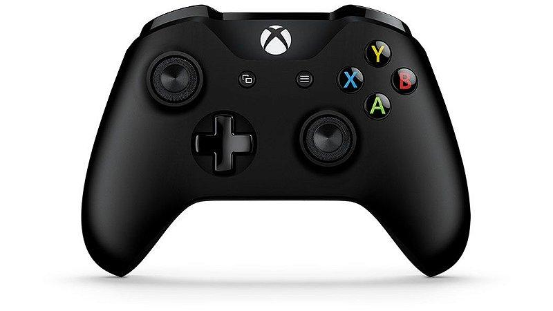 Controle Sem Fio Para Xbox One Preto