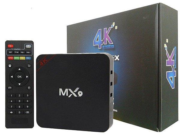 TV Box MX9 4K - Transforme sua tv em Smart