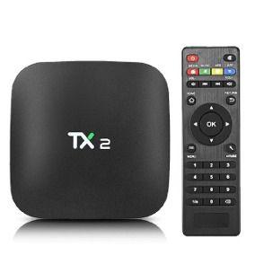TV Box TX 2 - 2GB - 16GB de Armazenamento
