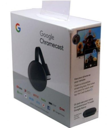 Google Chromecast 3 2021- Original