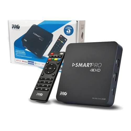 TV Box Pró Eletronic - Nacional - Anatel - 2GB
