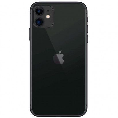 "iPhone 11 Apple 128GB Preto, Tela de 6,1"", Câmera Dupla de 12MP, iOS"