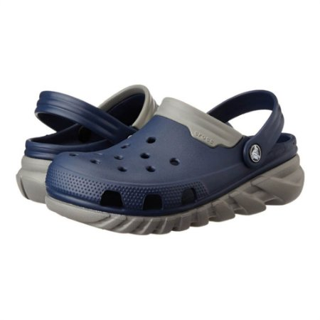 Crocs DuetMax Azul e Cinza