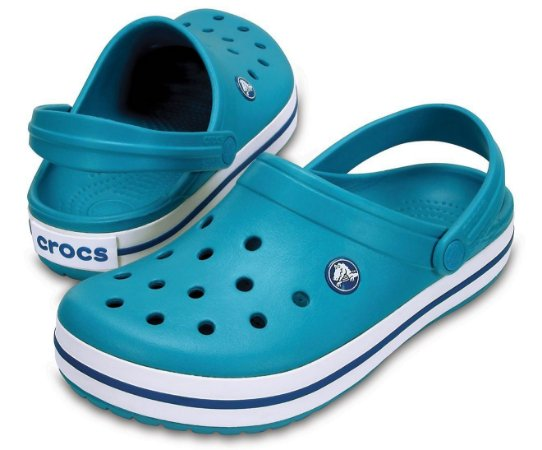 Crocs Crocband Azul Turquesa