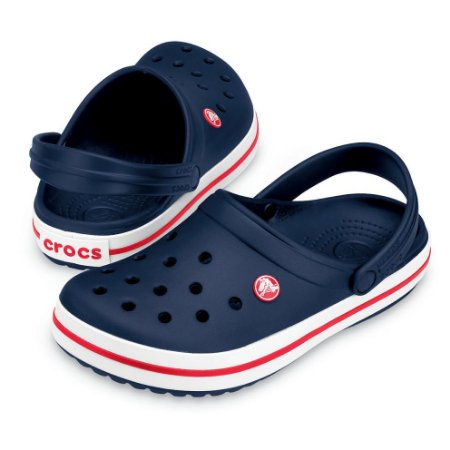 Crocs Crocband Azul e Vermelho