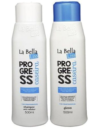 Escova Progressiva Caseira La Bella Liss 500ml 2 passos