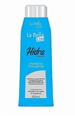 Shampoo Hidratante Hidra Expert 500ml La Bella Liss