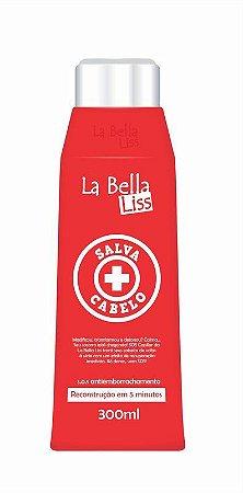 Salva Cabelo SOS Máscara De Reconstrução Antiemborrachamento 300ML La Bella Liss