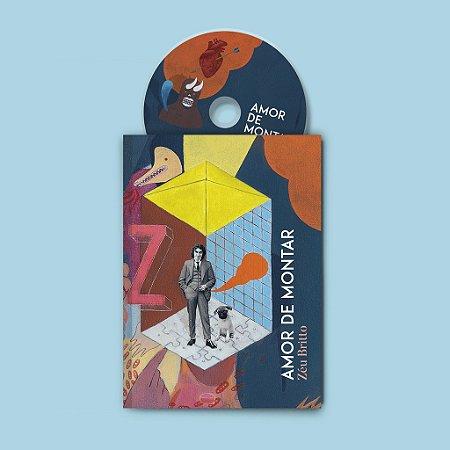 Livro + Disco + Marcador - Amor de Montar