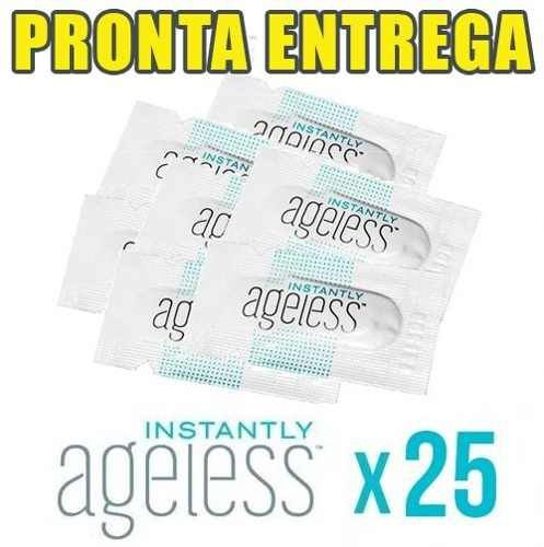 AGELESS Creme Instantâneo Cinderela JEUNESSE -(25 Saches) Frete Grátis