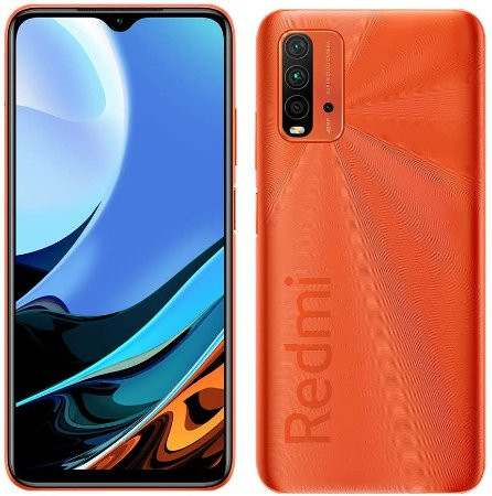 Smartphone Redmi 9T 128Gb - Laranja