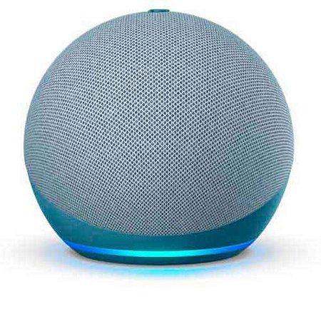 Echo Dot 4° Geração Alexa - Azul