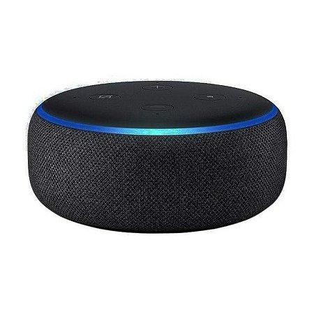 Smart Speaker Echo Dot 3ª Geração Alexa Preto