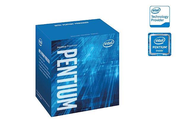 Processador Pentium Lga 1151 Intel G4400 3.3Ghz 3Mb Cache Graf Hd 510 Skylake 6Geracao BX80662G4400