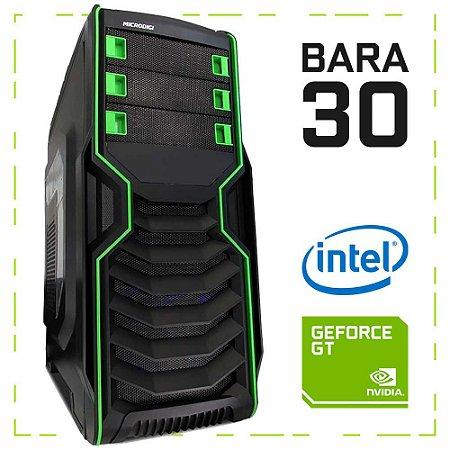 PC Gamer BARA 30 G4560 + GT 1030 8GB DDR4 1TB 400W 80 Plus Microdigi MD-515BG