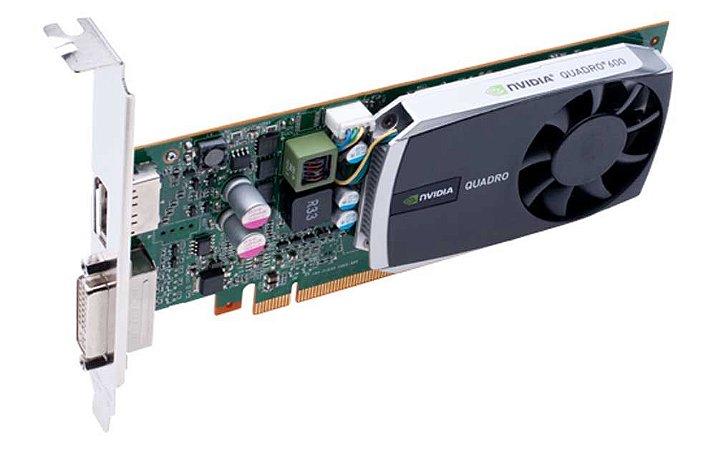 Placa de Vídeo Quadro K600 Nvidia 1Gb Ddr3 128Bits 192 Cuda Cores Dvi Dp