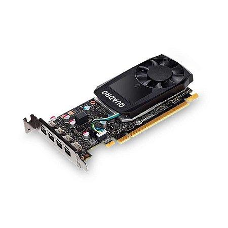 Placa de Vídeo Quadro P600 Nvidia 2Gb DDR5 128Bit Dp VCQP600-PORPB