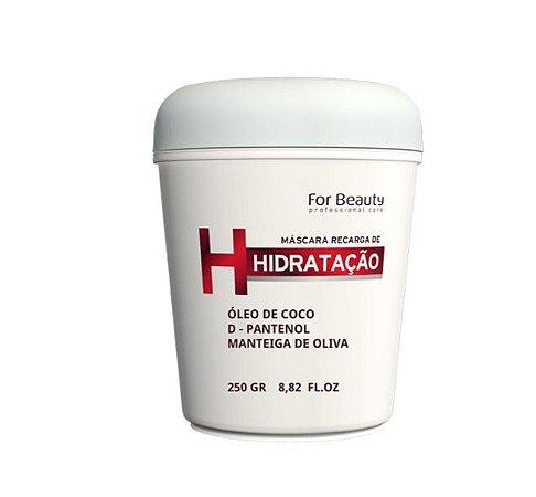 For Beauty HNR - Máscara Recarga de Hidratação 250g