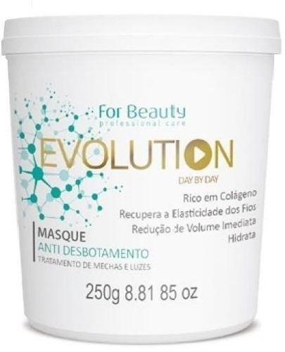 FOR BEAUTY EVOLUTION MÁSCARA  ANTI DESBOTAMENTO 250G