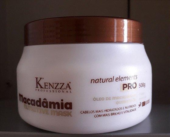 Mascara de Hidratação  Macadamia Kenzza 500gr