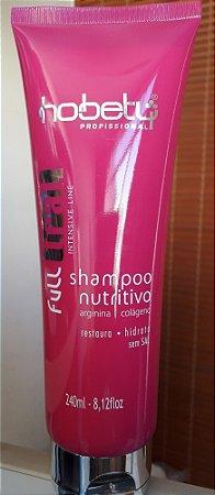 Full Trat Hobety Shampoo Nutritivo sem sal 240ml