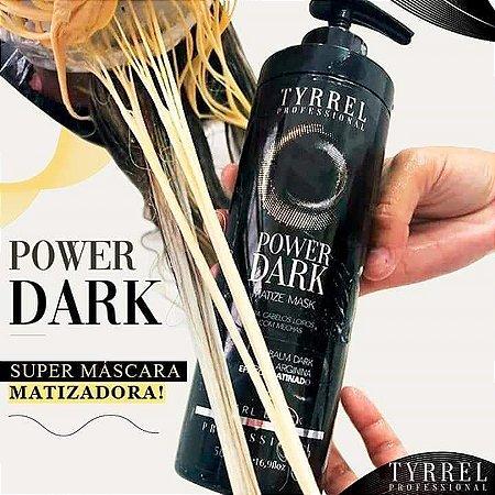Matizador Profissional Black Tyrrel Power Dark 500ml