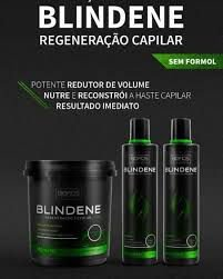 Kit Blindene Organica Mascara 1kg mais manutenção Biofios