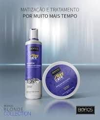 Kit Pure Blond Marizador Day Care Biofos