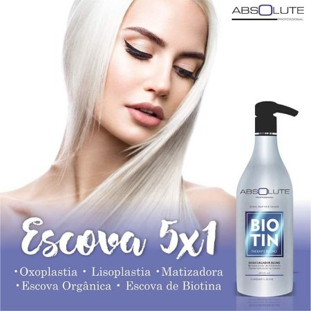 Progressiva Biotin Blond Therapy Absolute Cosmeticos