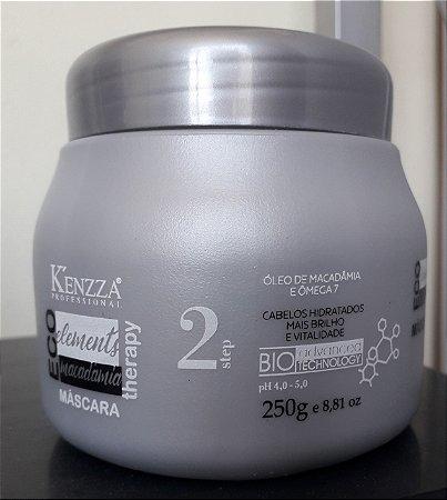 Máscara Macadamia Hidratação Kenzza 250gr