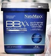 NATUMAXX - BEAUTY BALM XTENDED EXTREME PLATINUM BLONDE 1KG
