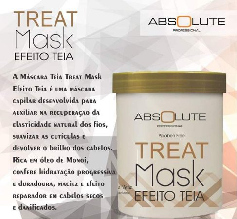 Absolute Treat Mask Efeito Teia 1kg