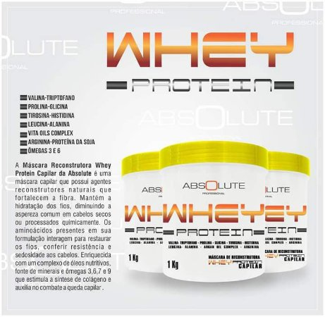 Máscara Absolute Whey Protein 1kg