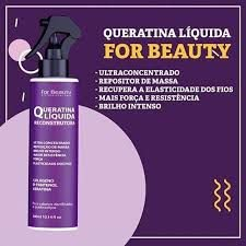 Queratina líquida For Beauty