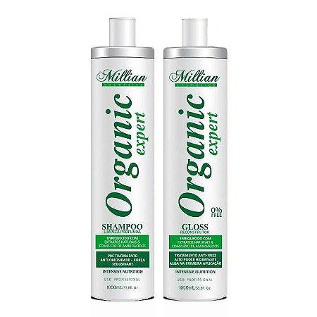 Escova Progressiva Organica Organic Expert Millian 1Litro