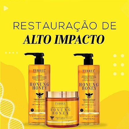 Lançamento Tyrrel kit tratamento de mel 3 produtos