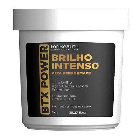 For Beauty BTX Power Brilho Intenso - Btox Efeito Liso Ação Cauterizadora 1kg