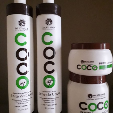 Kit Multi Hair Coco Progressiva mais botox 1kg